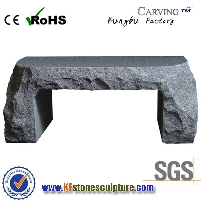G654 Granite Sone Benches For Gardens Kf Stone Sculpture